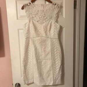 Lilly Pulitzer Women`s dress white NWT 12